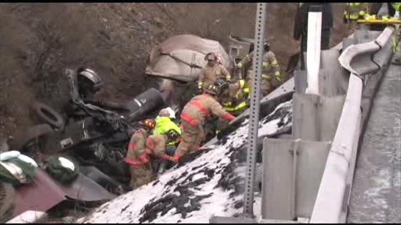 Pennsylvania State Police are investigating a nasty wreck on the Northeast Extension of the Turnpike in Carbon County.