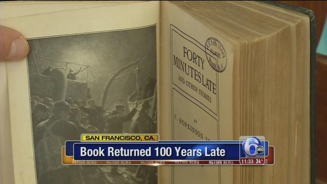 Book returned 100 years late