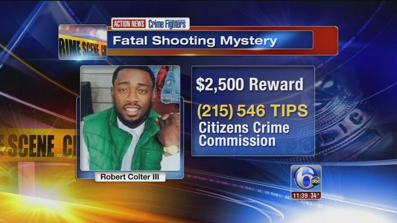 Crime Fighters: Who killed Robert Colter III?