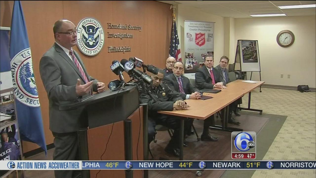 Homeland Security, local officials fight human trafficking
