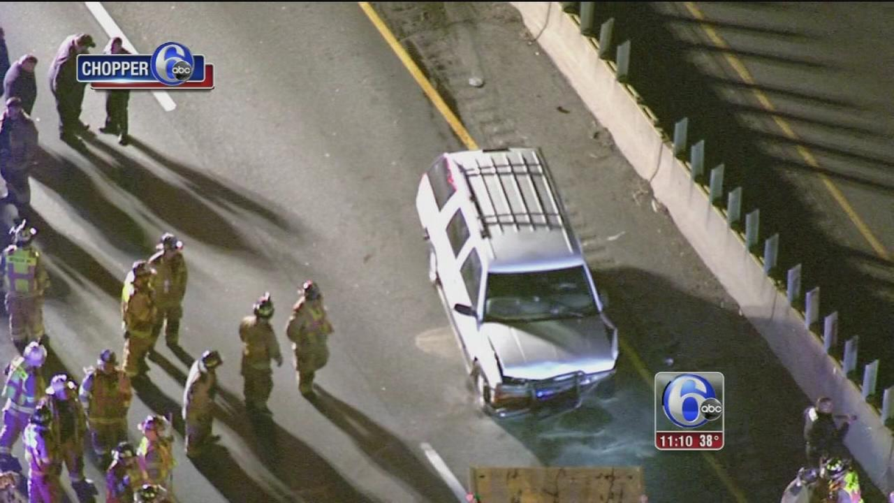 Robbery leads to police chase, crash on I-95 in Chester Twp.
