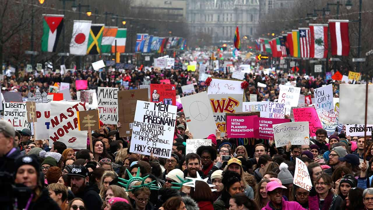 Women's March on Philly shatters attendance prediction