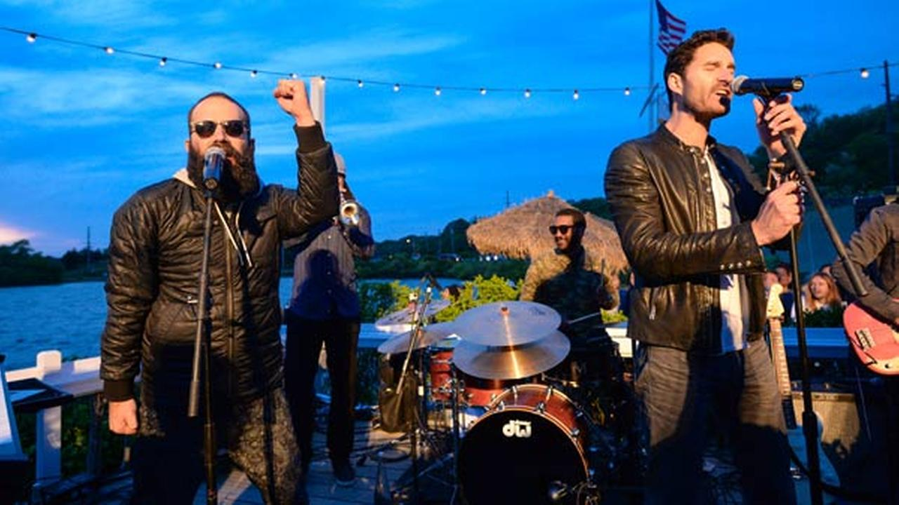 Capital Cities performs at The Surf Lodge on Sunday, May 24, 2015, in Montauk.