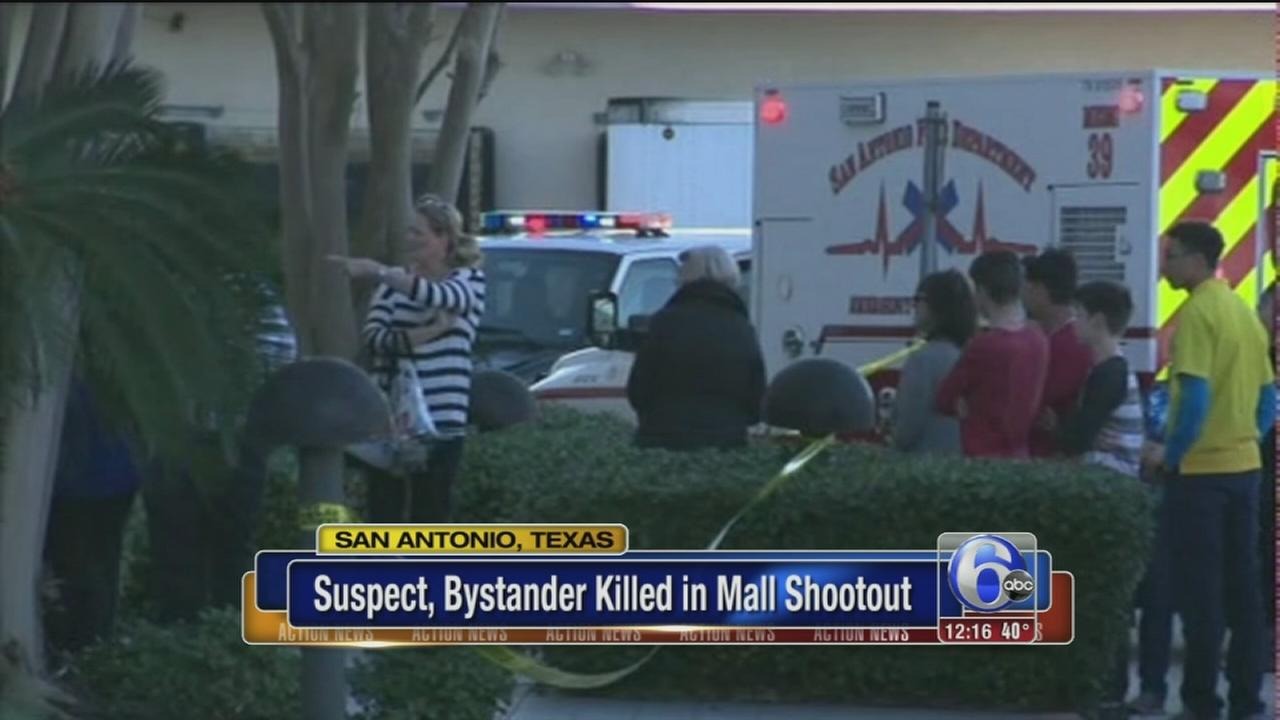 2 suspects in custody in deadly San Antonio mall shooting