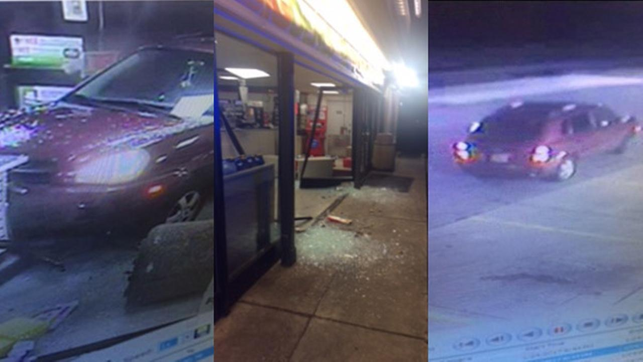Hit-and-run driver crashes into Wilmington 7-Eleven