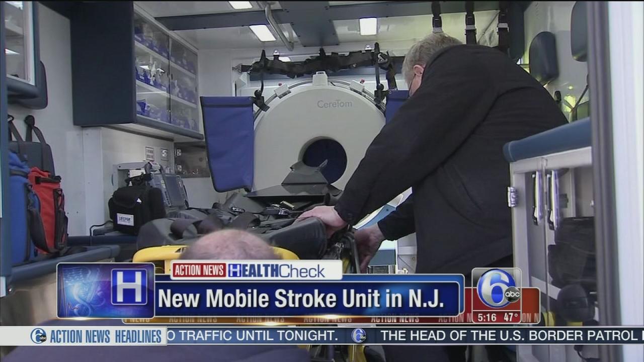 Capital Health unveils new mobile stroke unit in Trenton