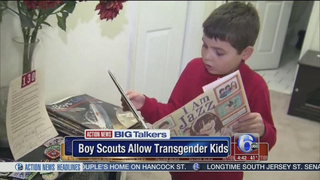 8-year-old New Jersey boy leads the way for transgender Boy Scouts