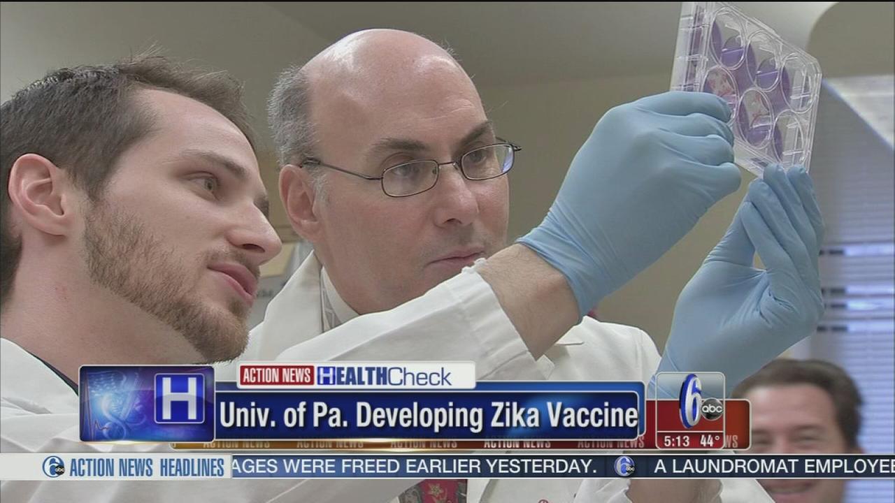 University of Pennsylvania developing Zika vaccine