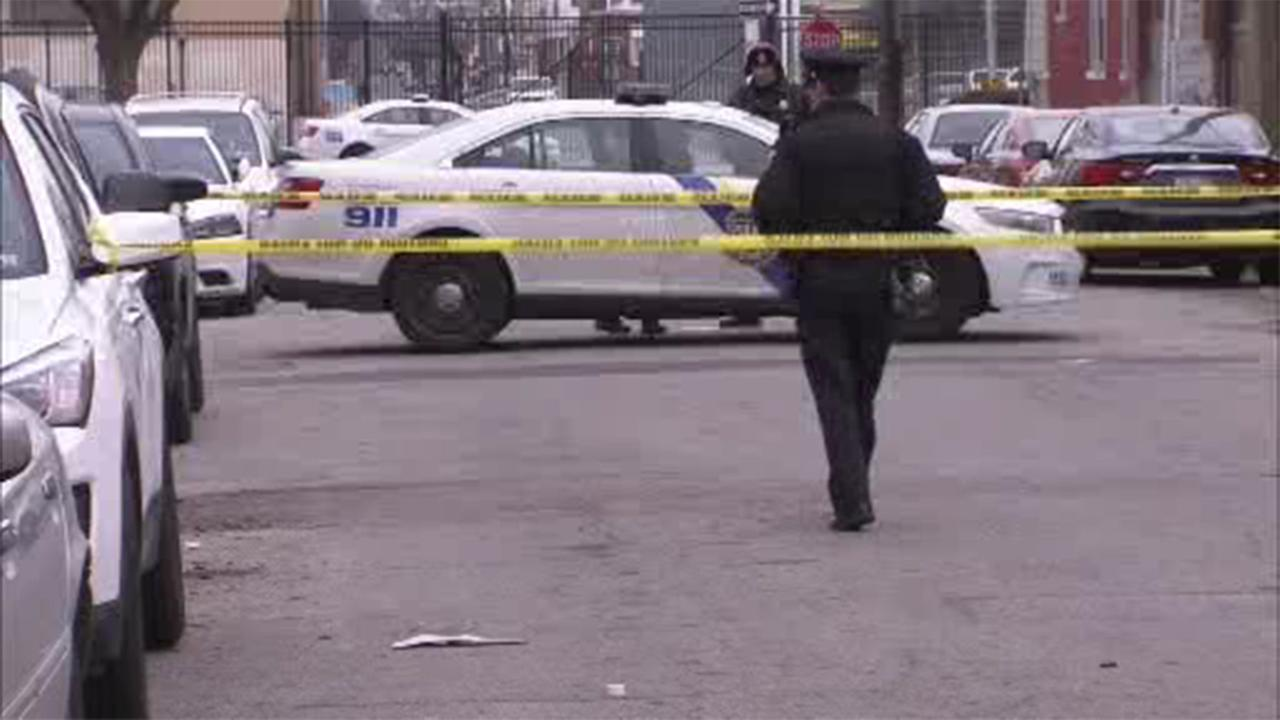 Police are looking for the hit-and-run driver they say struck a man and woman in West Philadelphia.