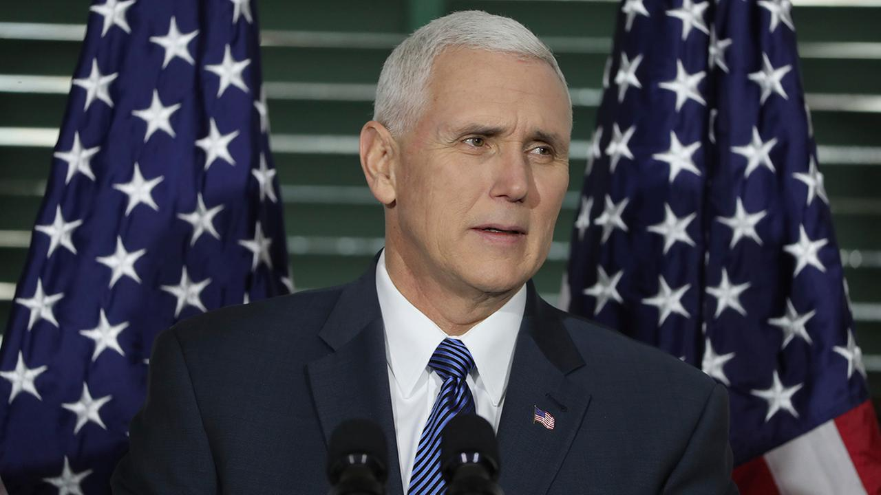 VP Mike Pence used private email for state business as governor