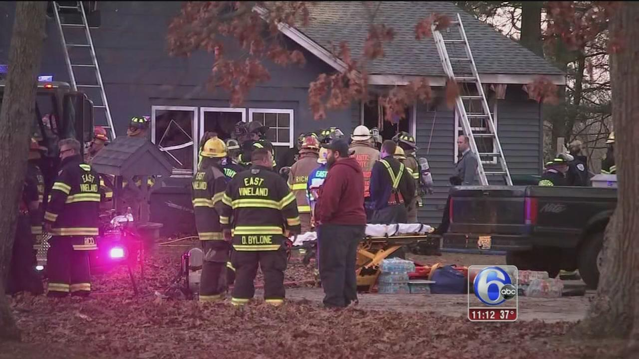 Fire erupts inside home in Buena Vista Township