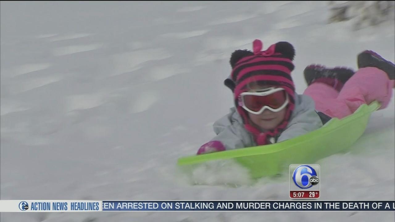 Snowstorm hits Allentown