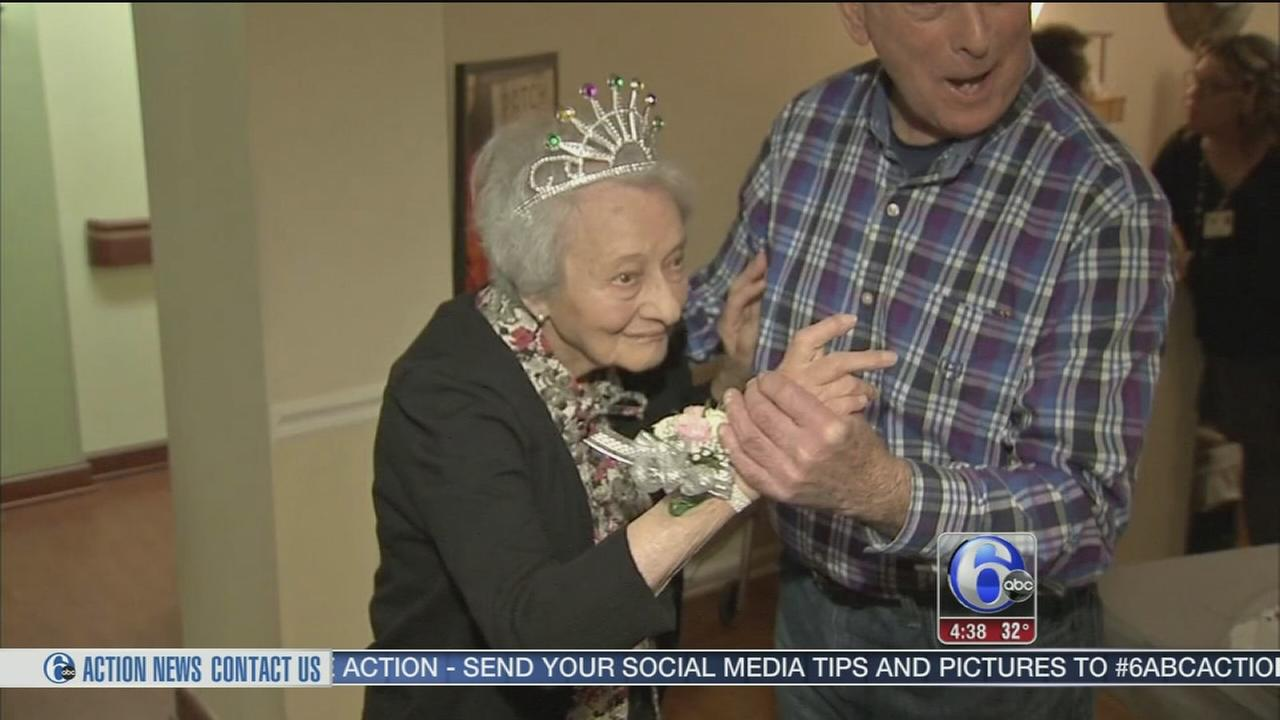 VIDEO: Woman celebrates 110th birthday by dancing