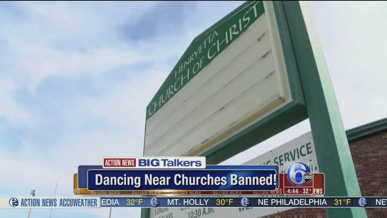 VIDEO: Dancing near churches banned in Oklahoma town