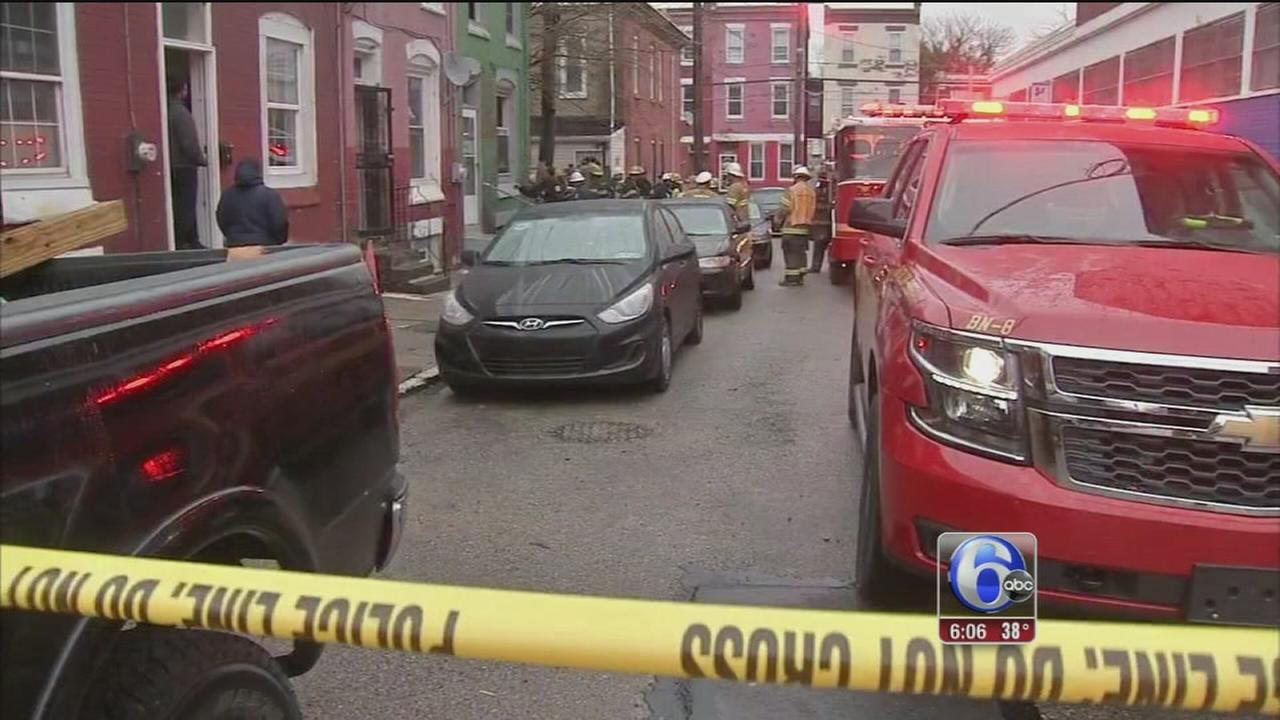 4 hospitalized after possible CO leak in North Philadelphia