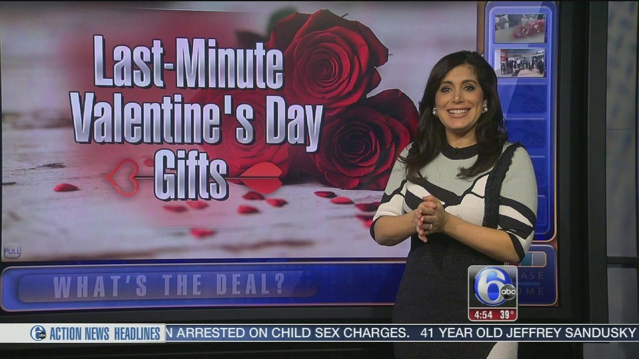 Whats the Deal: Last-minute Valentines Day gifts