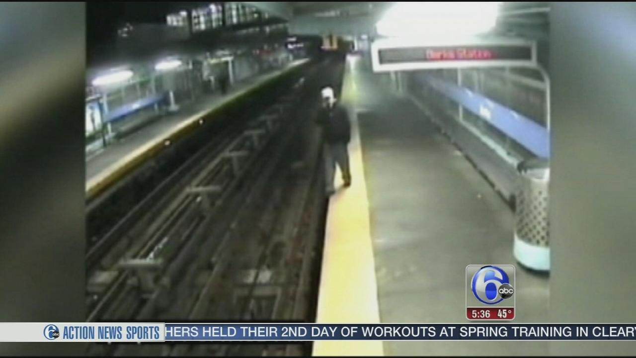 VIDEO: SEPTA safety blitz aims at distracted riders