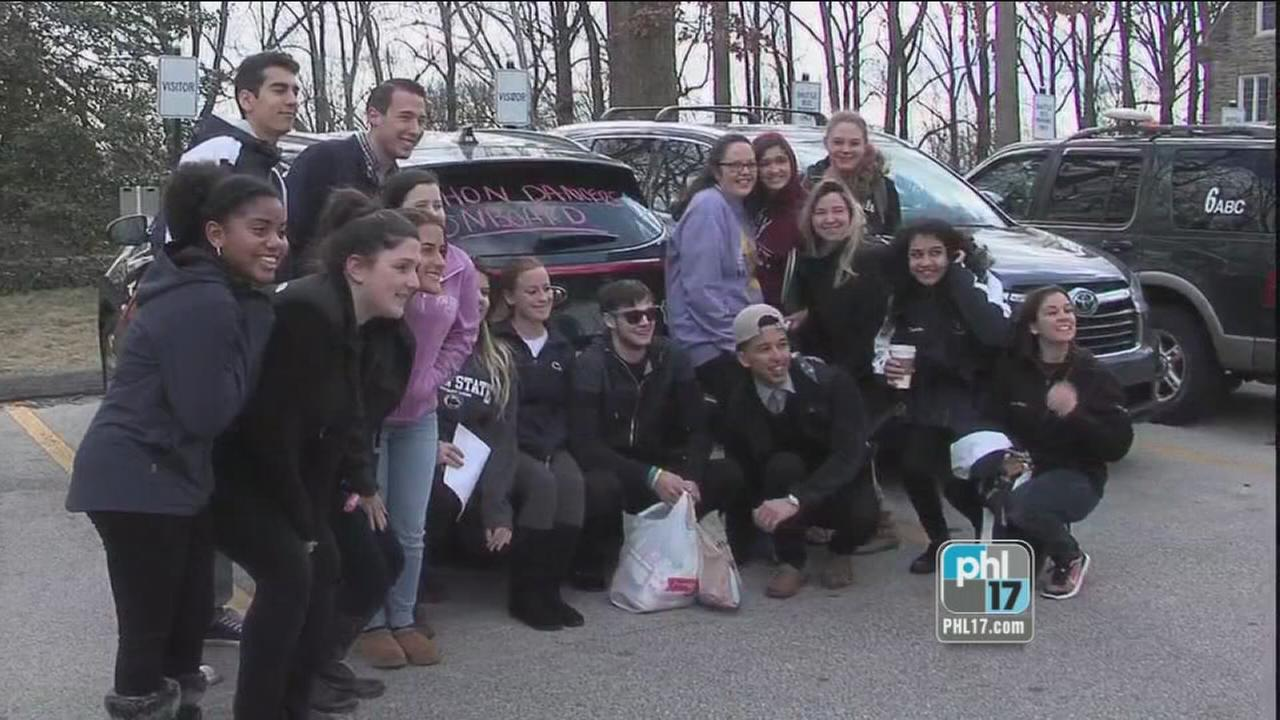 Abington students travel to State College for THON 2017