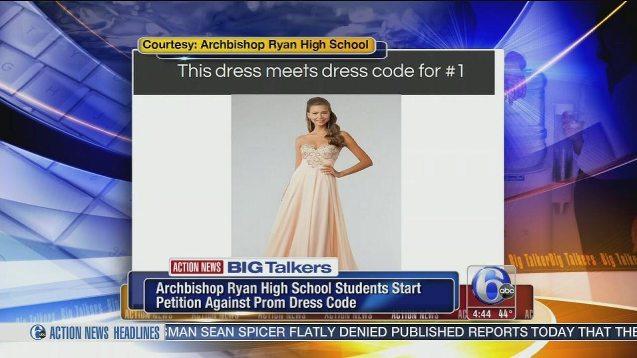 Archbishop Ryan students start petition against prom dress code