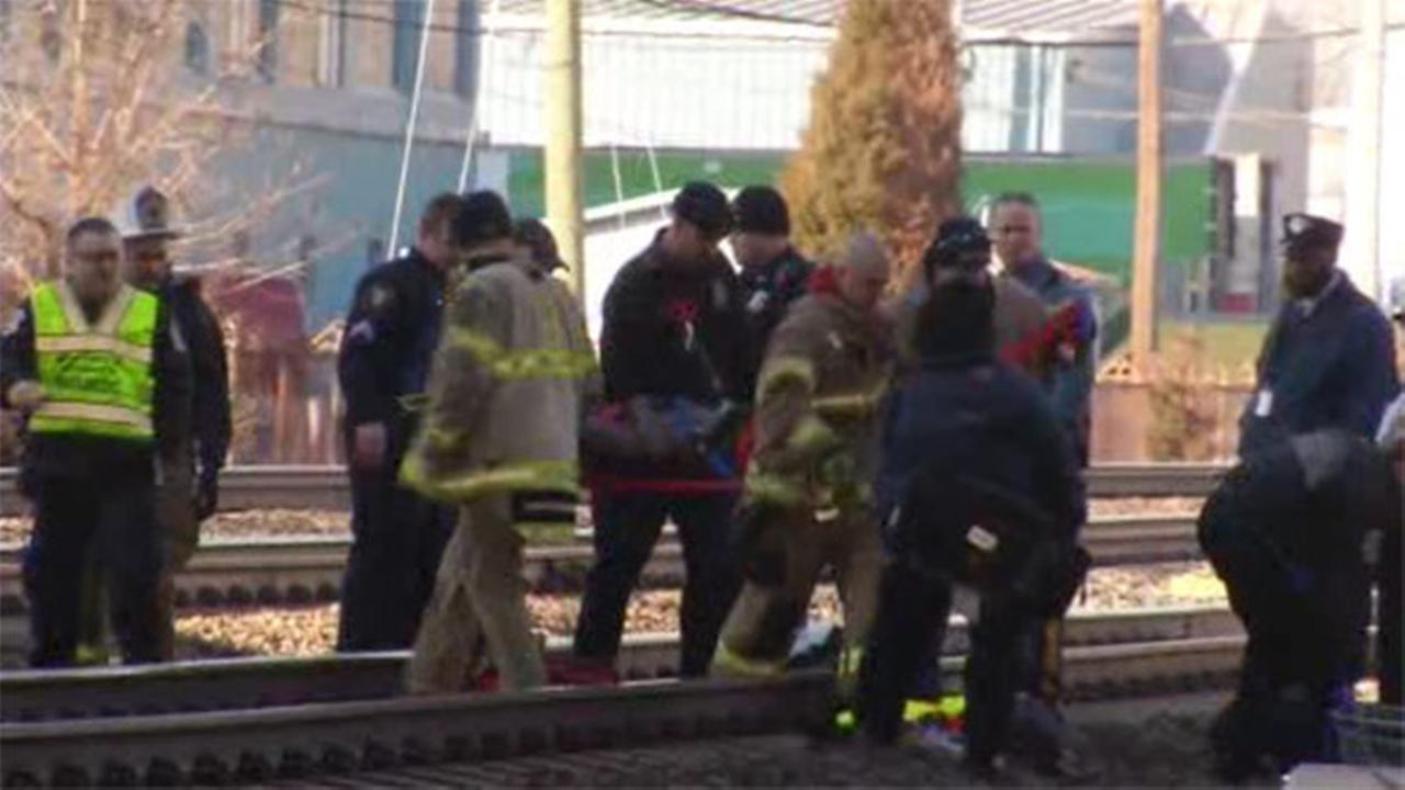 Man clipped by train in Delaware