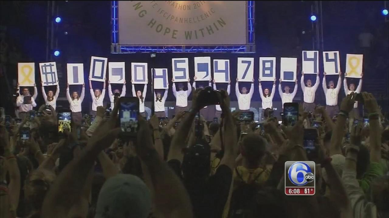 Penn State raises $10,045,478.44 for THON 2017
