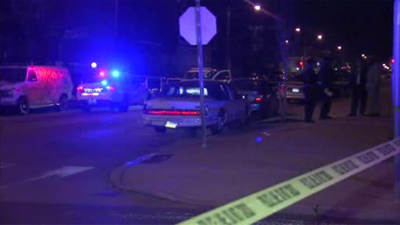 Philadelphia police are investigating a murder in the citys Kingsessing section.