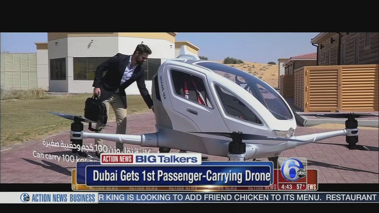 Passenger-carrying drones set for flight in Dubai
