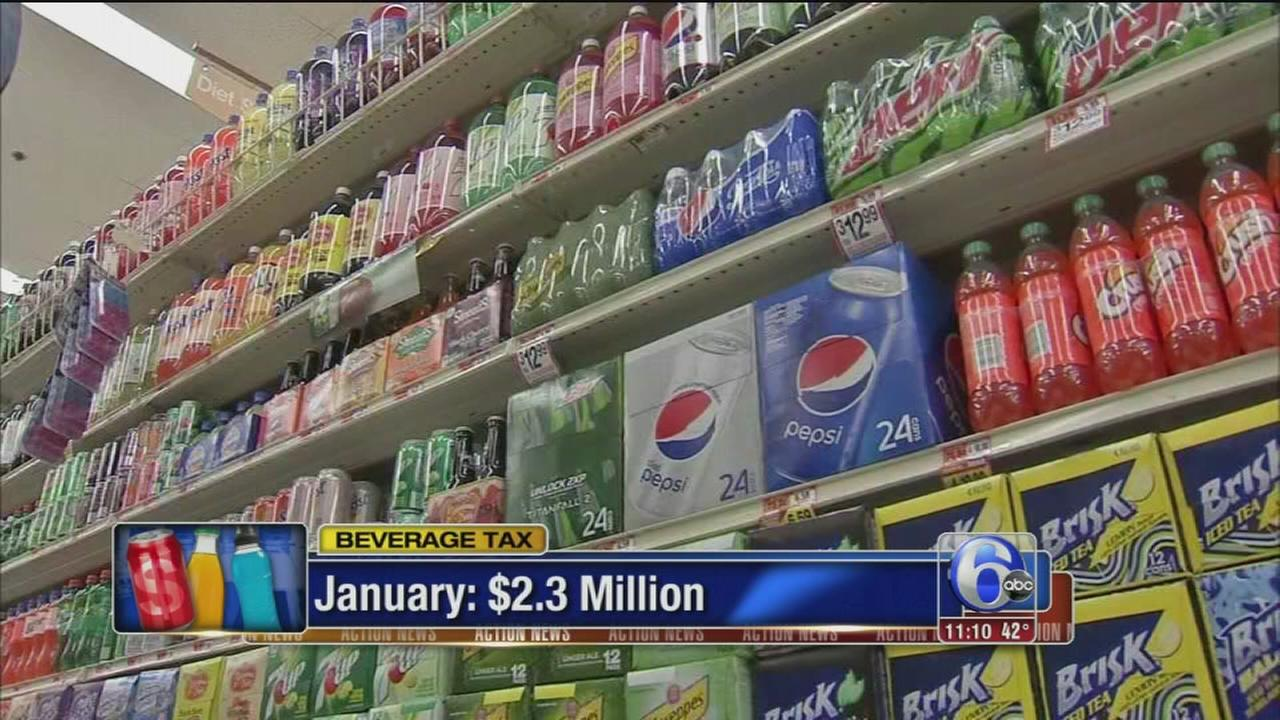 City projections for first month of soda tax