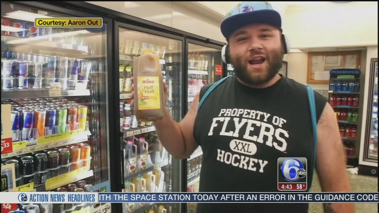 Local rapper writes song about his love for Wawa
