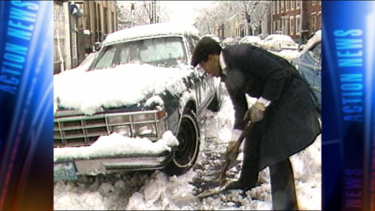 The Delaware Valley felt the impact of a major snowstorm on February 23, 1987.