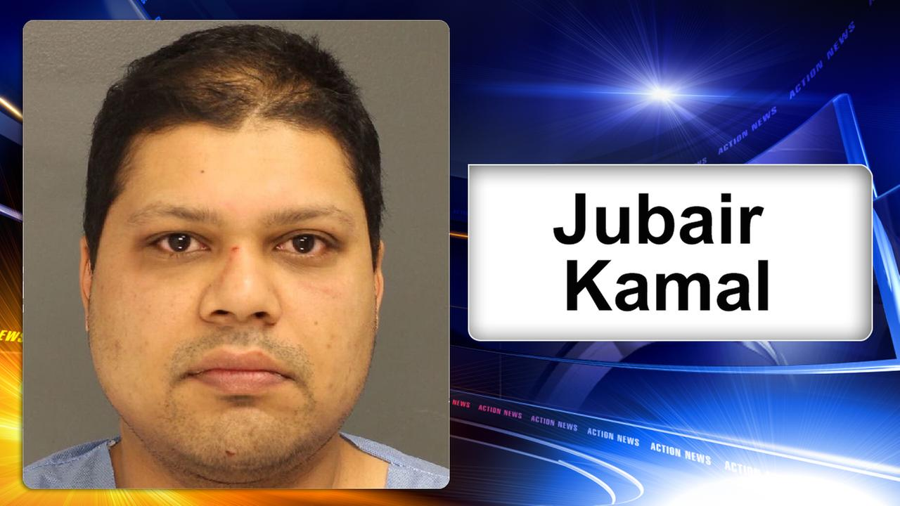 A 38-year-old Delaware County man is charged with crashing into a home in Upper Darby.