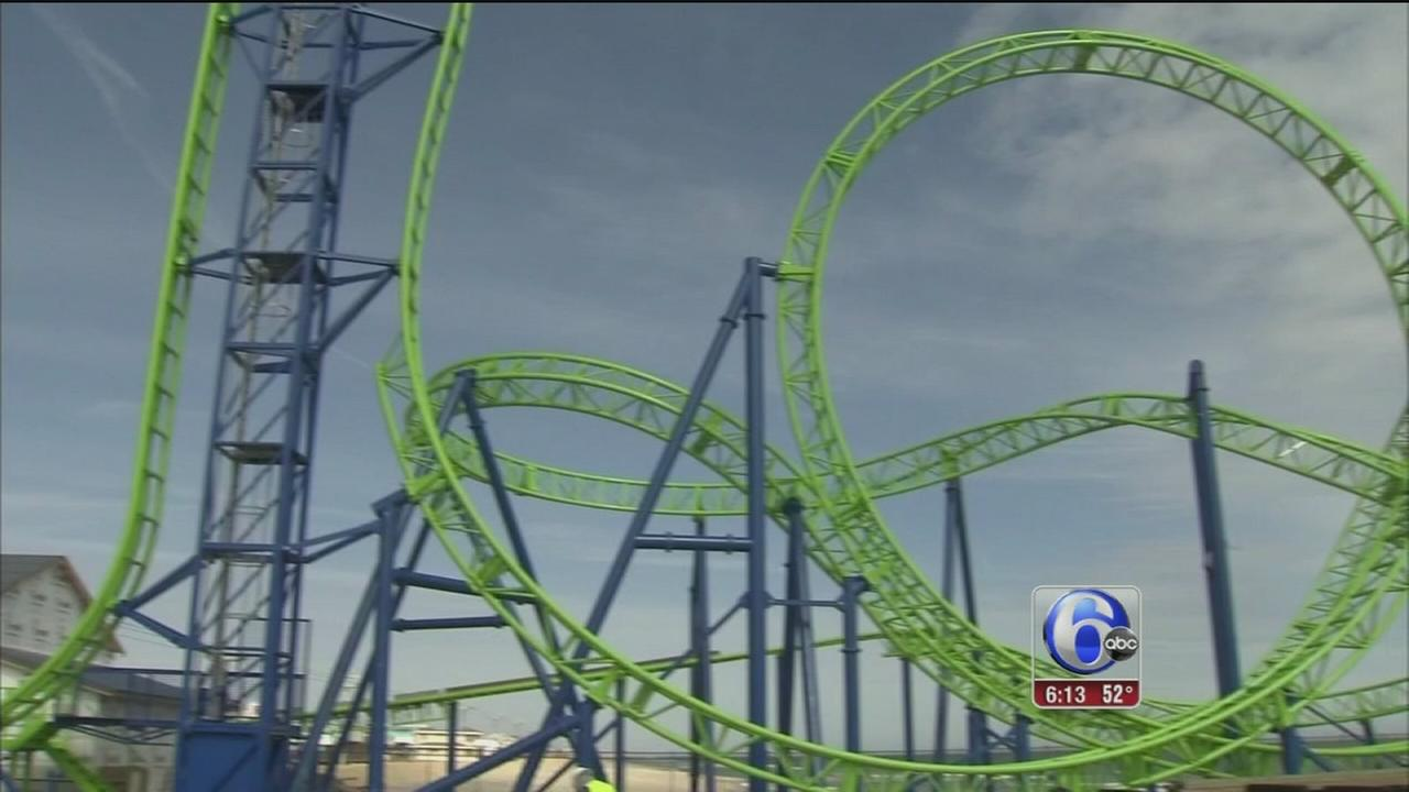 Roller coaster of emotions in Seaside Heights