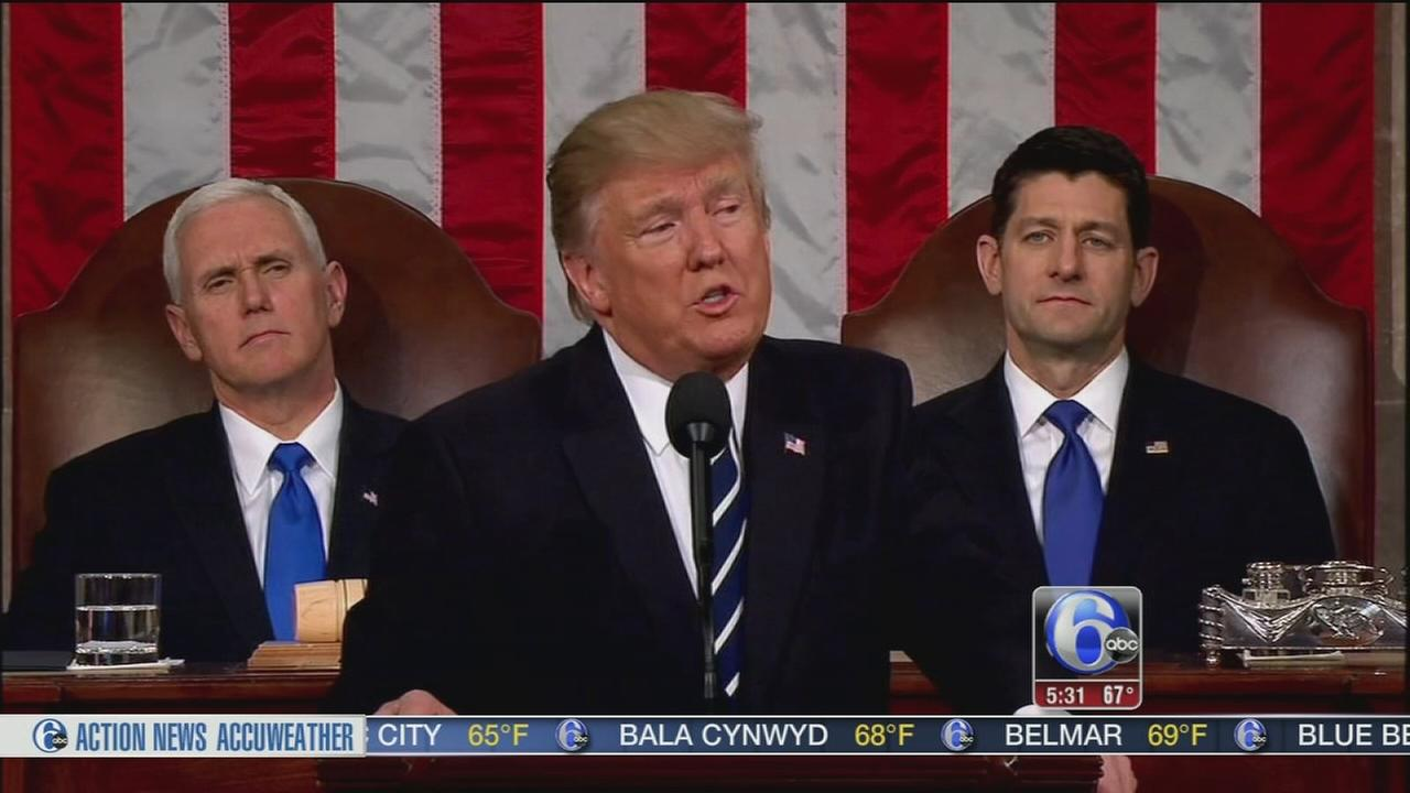 Trump speech leaves GOP encouraged, but still divided