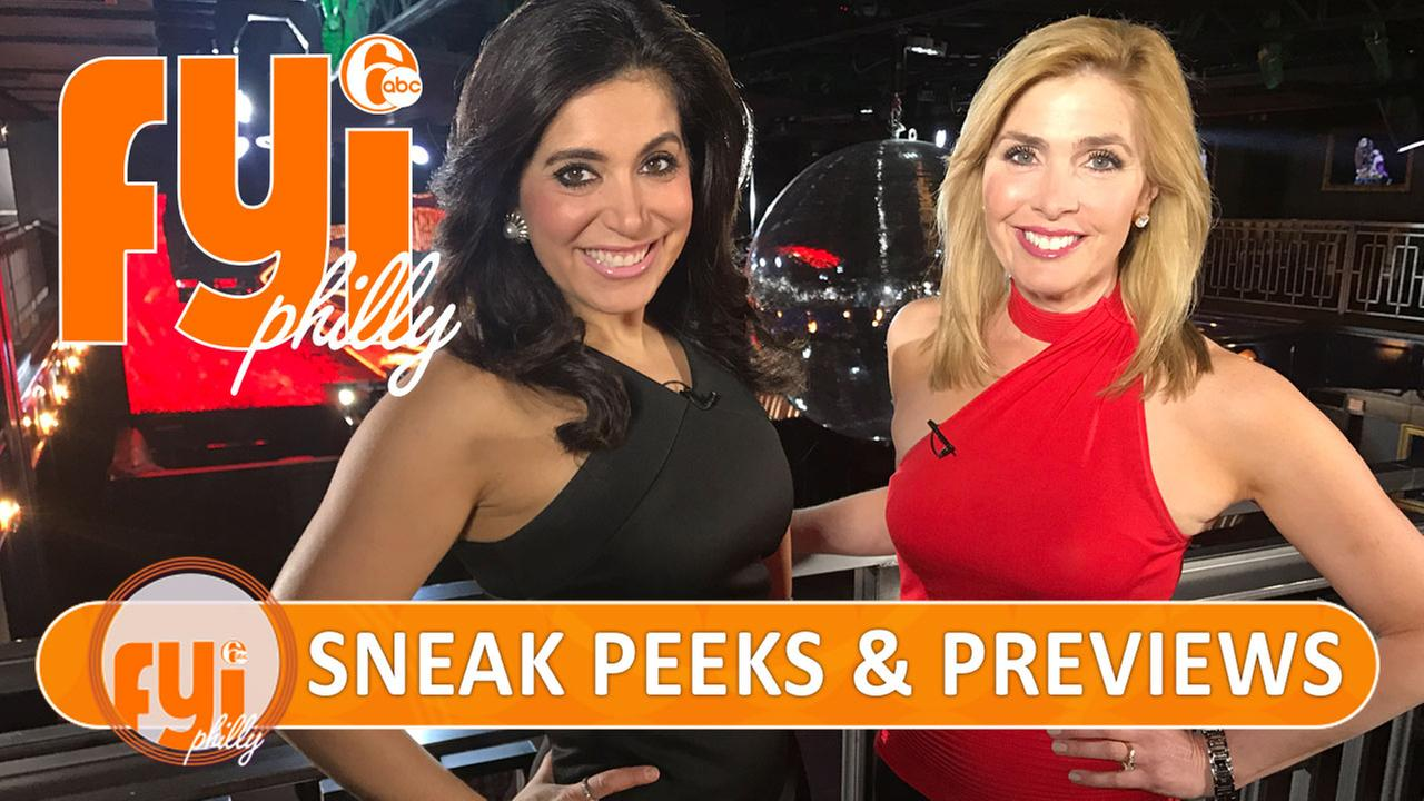 FYI Philly: Sneak Peeks and Previews