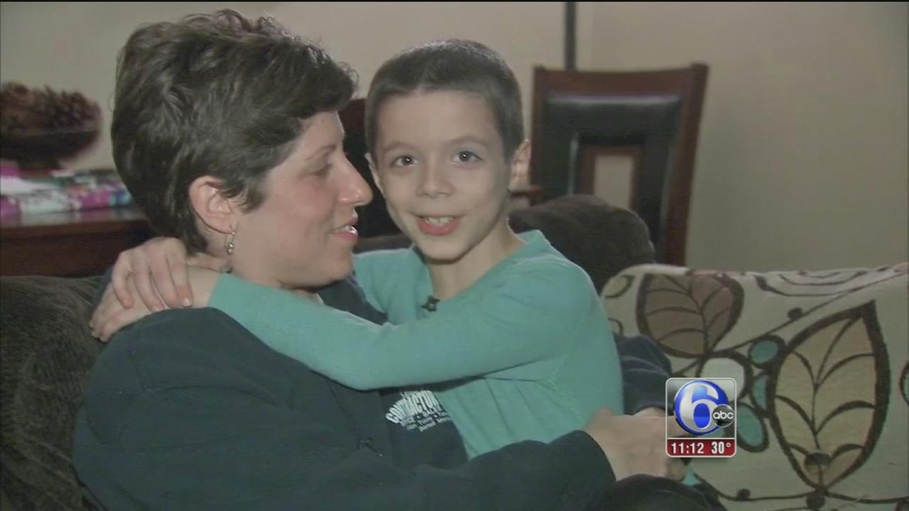 7-year-old hero helps save moms life in Evesham Township