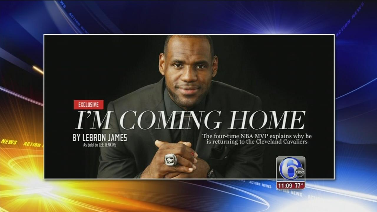 i m coming home lebron