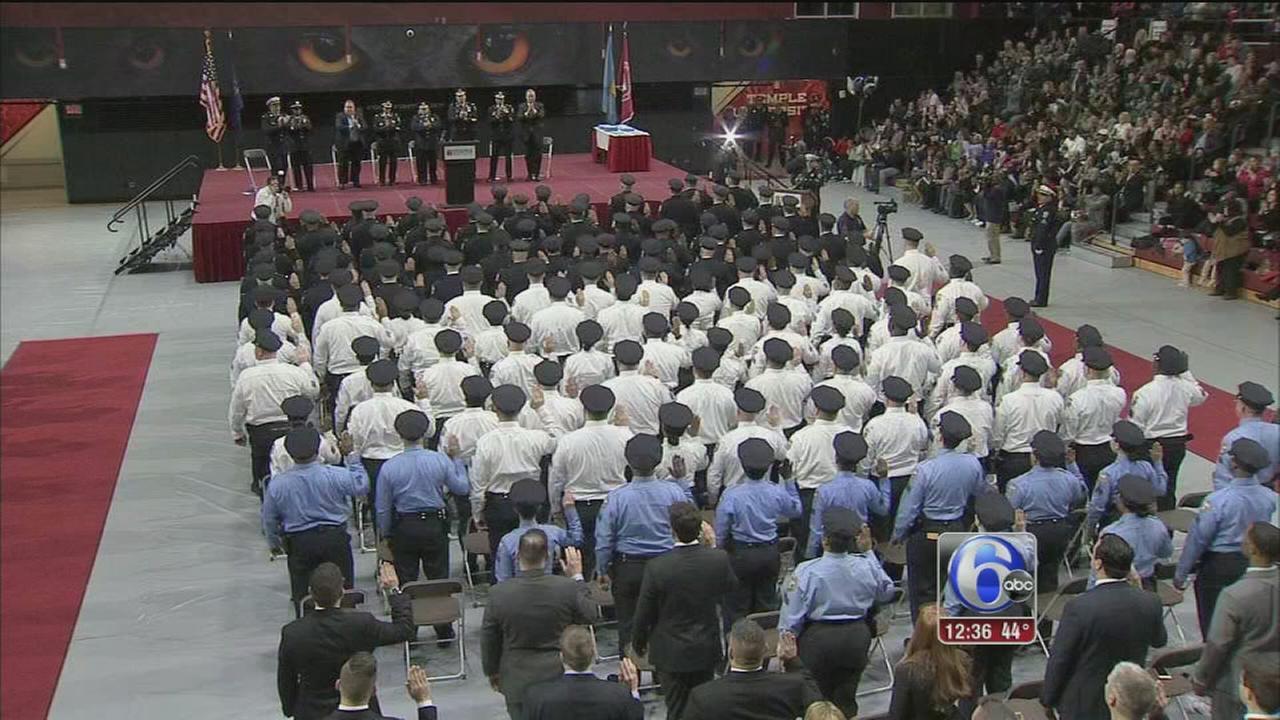 Several Philadelphia police officers promoted