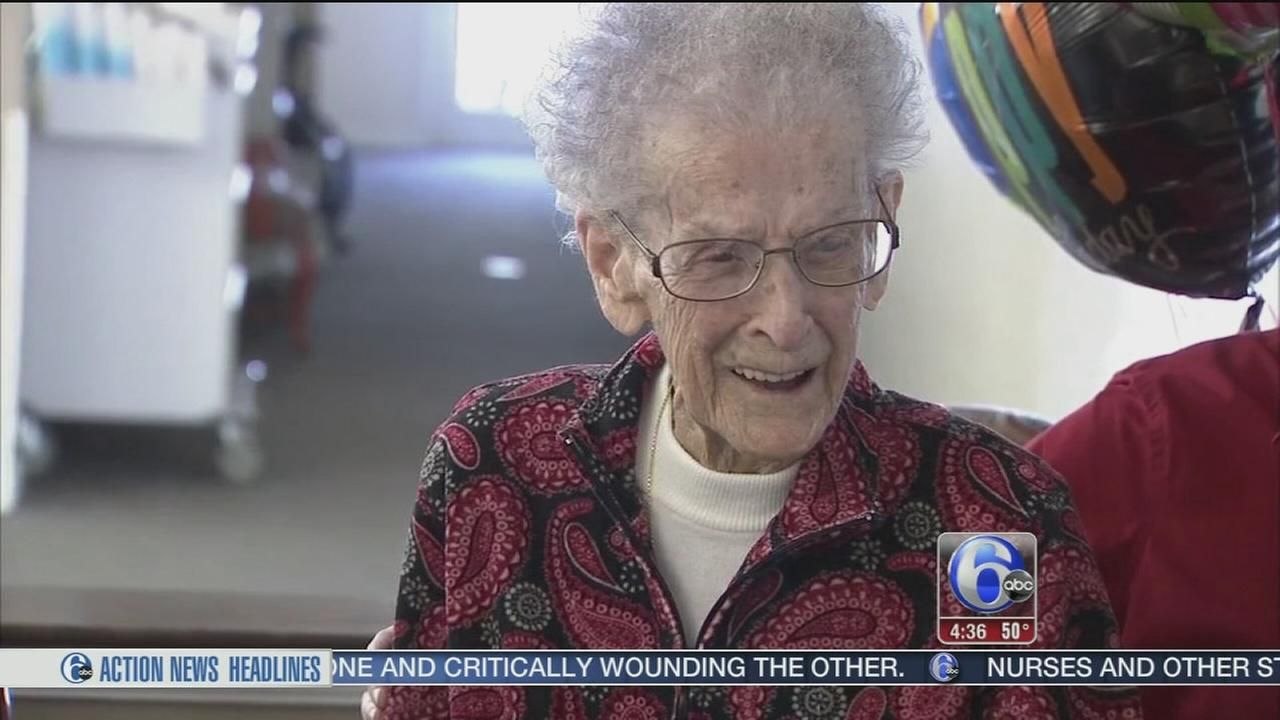Salem County woman celebrates 105th birthday