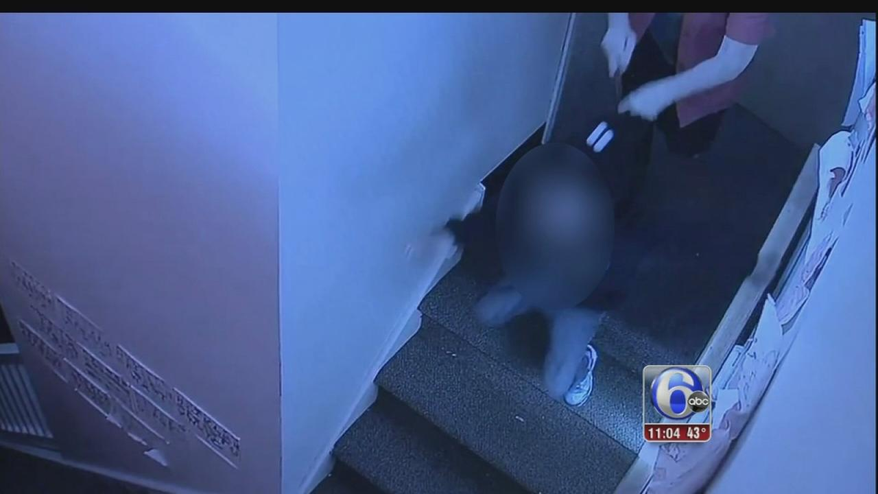Daycare worker pushes girl, 4, down stairs