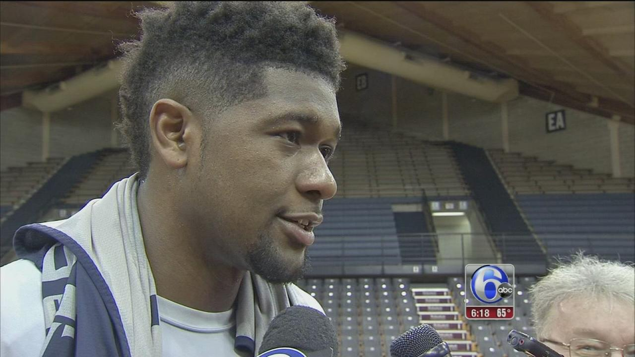 Kris Jenkins shooting for repeat championship