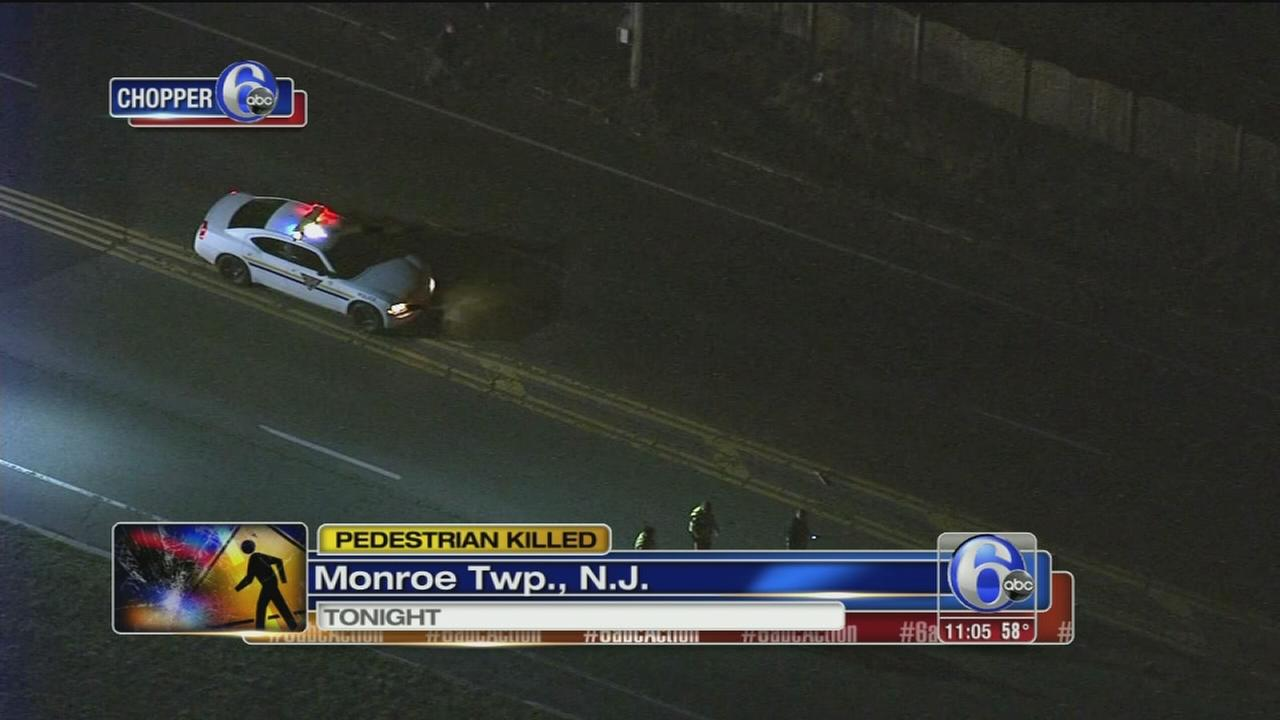 Man struck and killed in Monroe Township