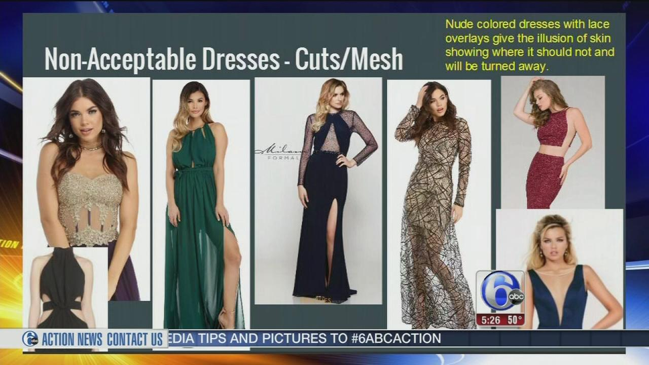 Prom dress guidelines lead to body shaming accusation