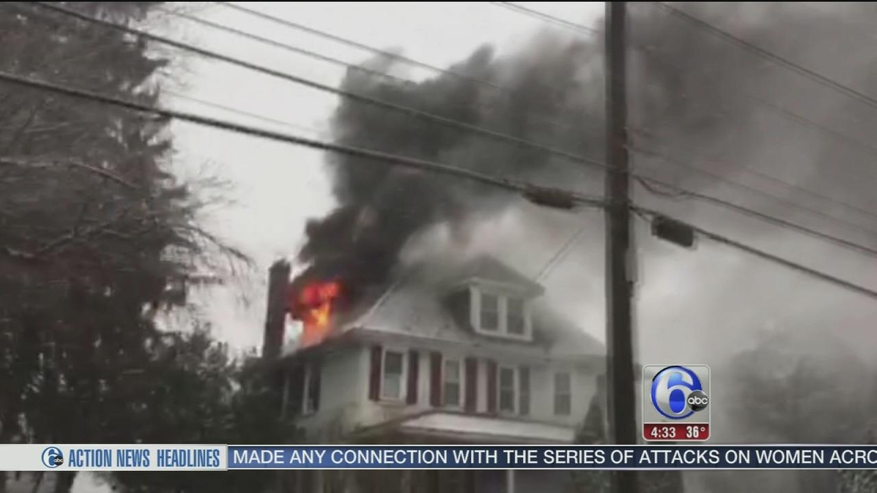 VIDEO: 1 dead in Chester County house fire