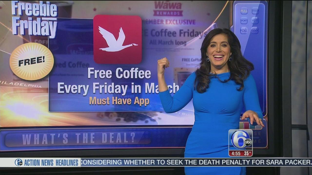 VIDEO: Freebie Friday - coffee, rollerskating and more