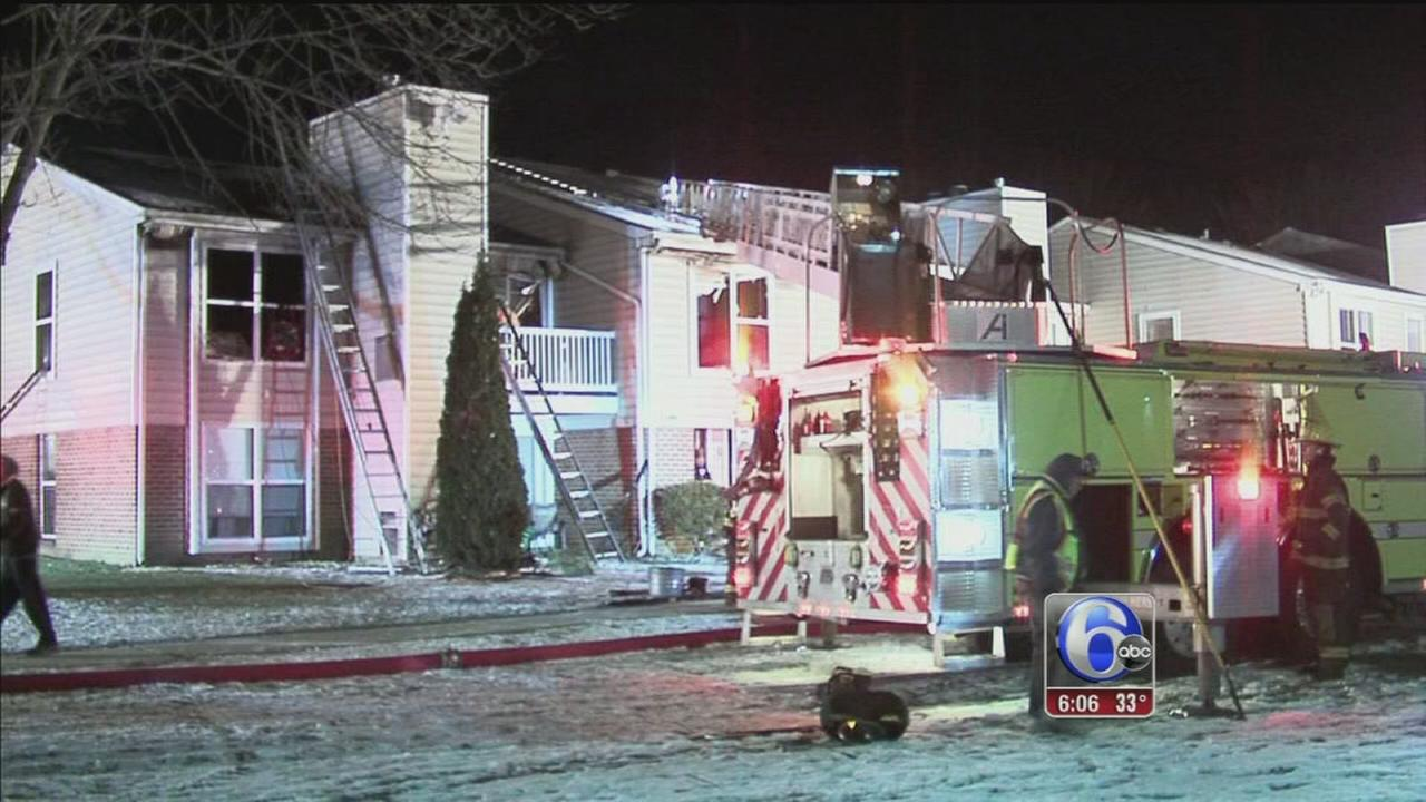 Apartment complex fire blamed on unattended cooking