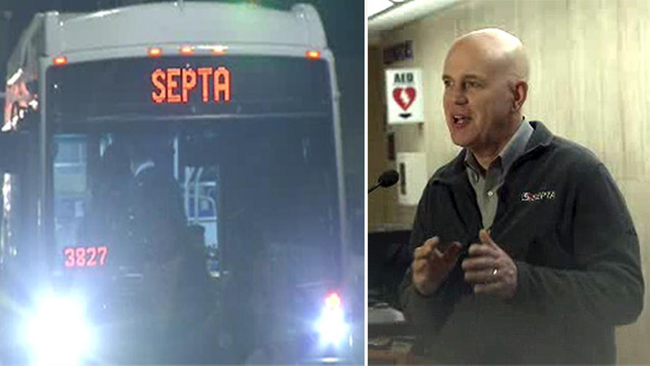 SEPTA: Nor'easter impacting service as expected