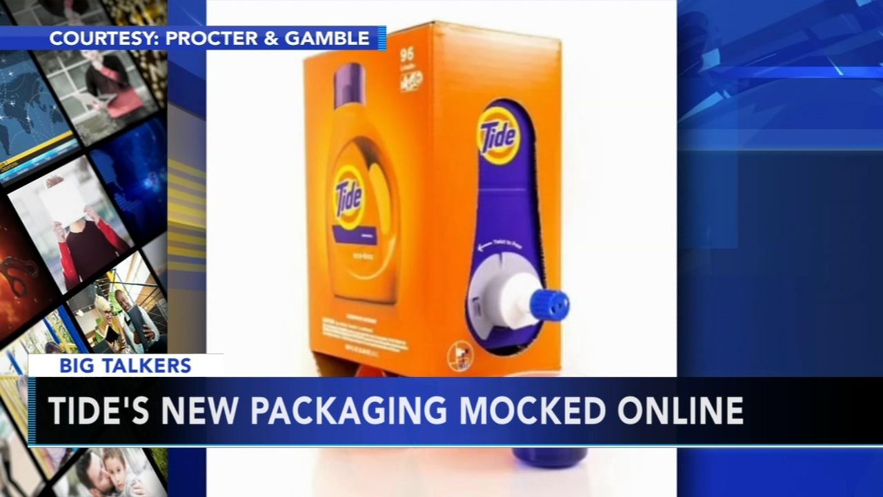DETERGENT PACKAGING: Alicia Vitarelli reports during Big Talkers on Action News at 4:30 p.m. on November 12, 2018.