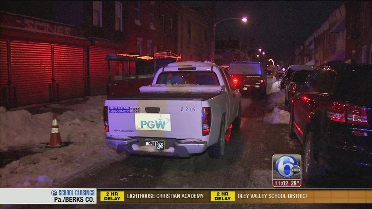 Man, woman hospitalized for CO poisoning in North Philly