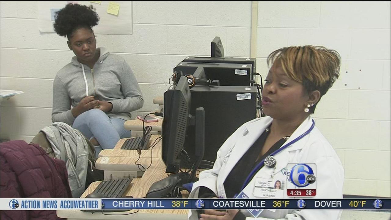 Students explore health careers