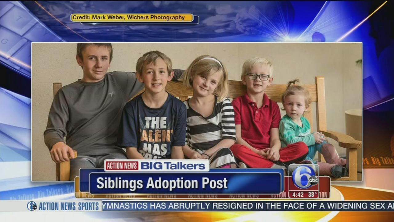 Push underway to get 5 Kansas siblings adopted together